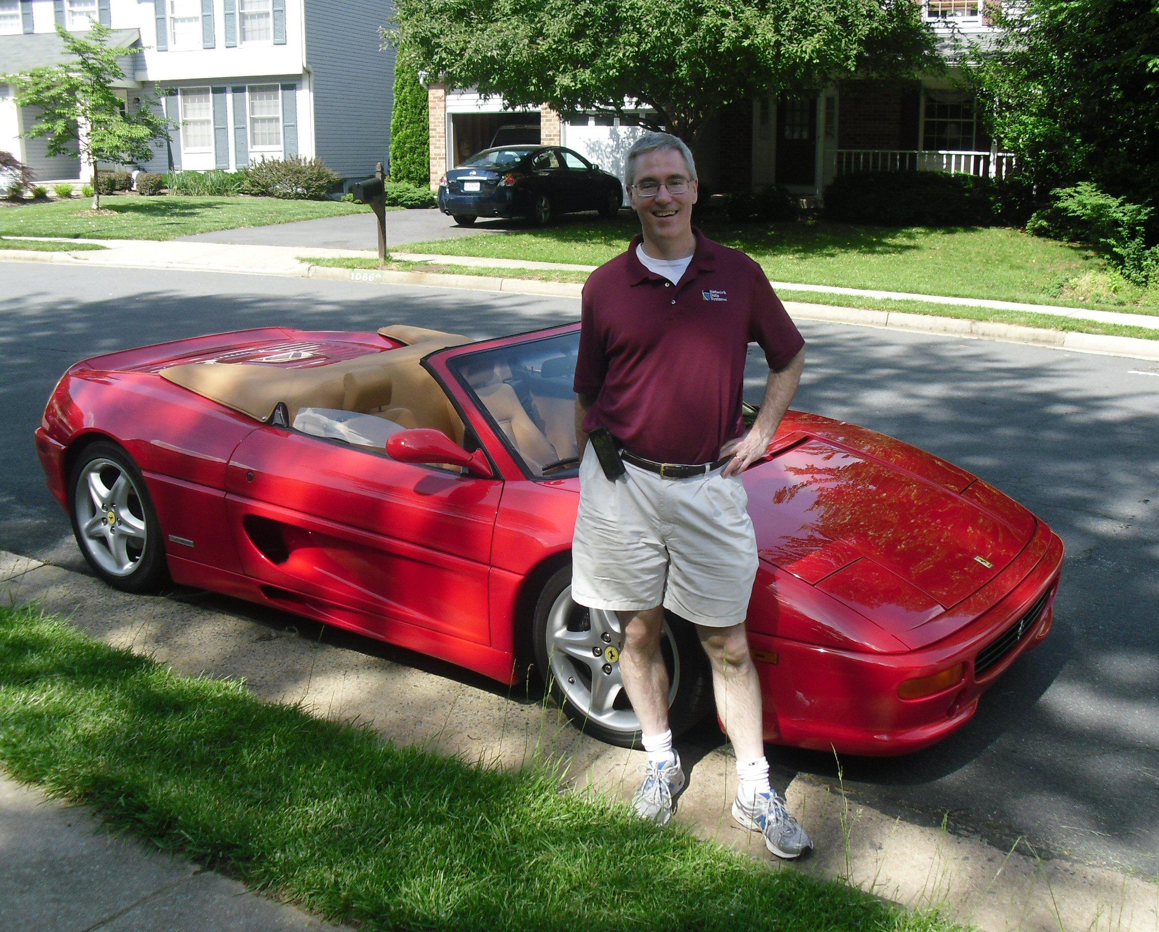 Gary McGuire & Ferrari 355